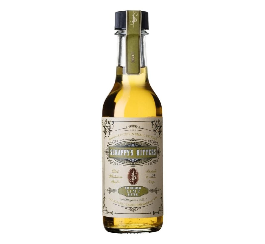 Scrappy's Bitters Lime 5 oz
