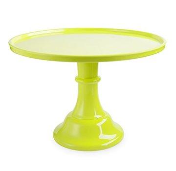 True Cakewalk Acrylic Cake Plate - Lime