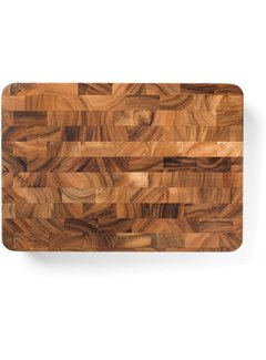 "Fox Run Ironwood Union Stock Yard Butcher Block 20""X14""X3"""