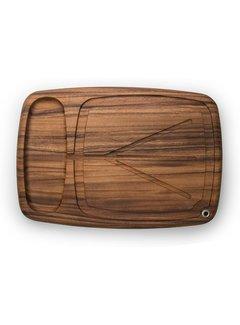 "Fox Run Ironwood Kansas City Carving Board 22"" X 15"" X 1.5"""