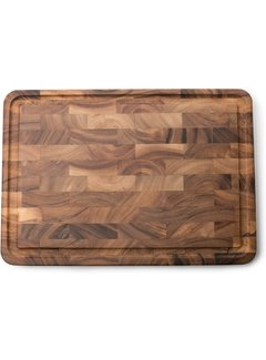 "Fox Run Ironwood Charleston End Grain Board 14""X14""X1"""