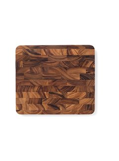 "Fox Run Ironwood Oslo End Grain Utility Board 15.75""X14""X1"""