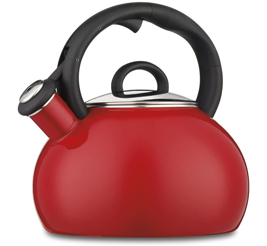 Aura™ 2 Qt. Tea Kettle-Red