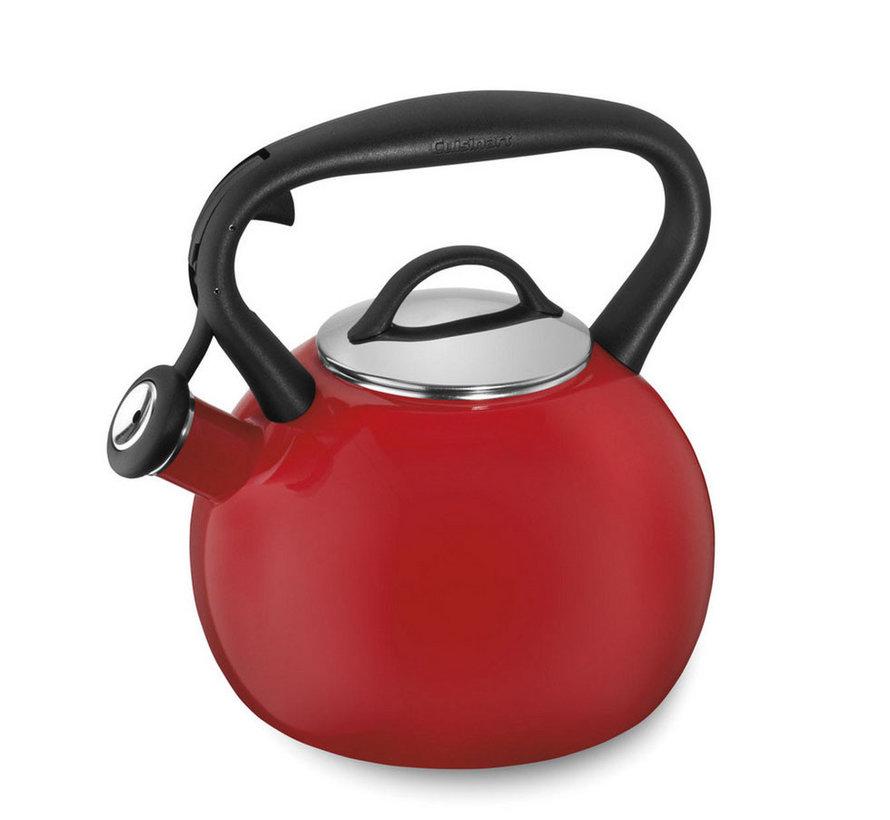 Valor™ 2 Qt. Tea Kettle-Red
