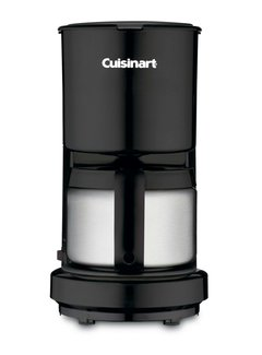 Cuisinart 4 Cup Coffeemaker Stainless Steel Carafe
