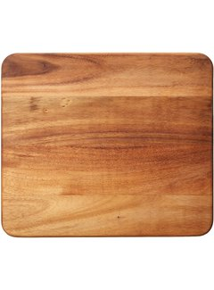"Fox Run Ironwood Oslo Long Grain Utility Board 15.75""X14""X1"""
