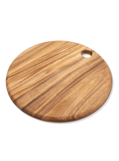 "Fox Run Ironwood Copenhagen Round Board 14"" X .75"""