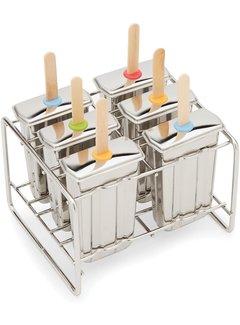 Fox Run Stainless Steel Popsicle Set