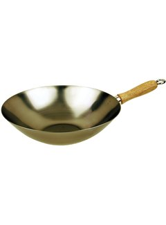 "Fox Run 12"" Carbon Steel Wok"