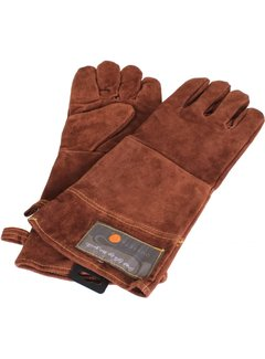 "Fox Run Leather 15"" Grill Gloves"