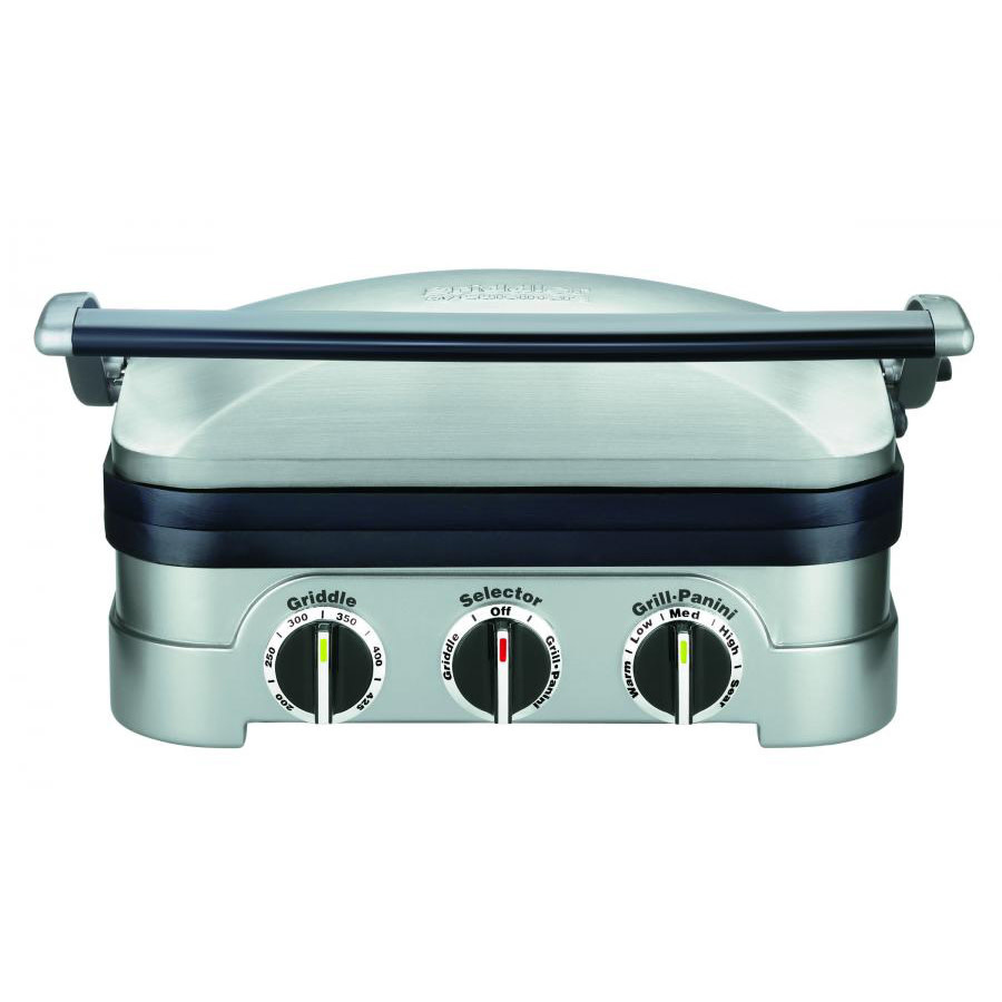 Cuisinart Griddler 5 In 1 Grill And Panini Press Spoons N Spice