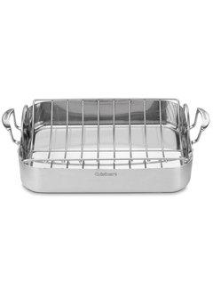 """Cuisinart Multiclad 16"""" Roaster W/Rack"""