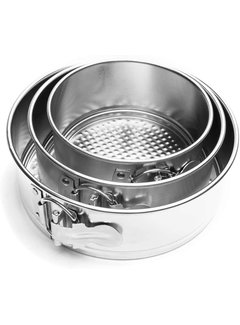 Fox Run Mini Springform Pans - Set of 3