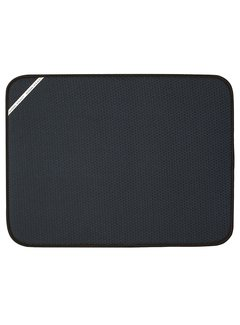 "Fox Run Dish Drying Mat XL Black, 18"" X 24"""