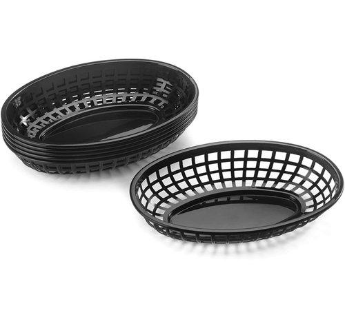 Fox Run Pub Baskets (6pc) Black