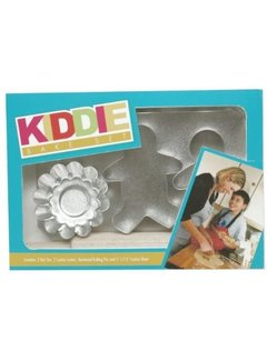 Fox Run Kiddie Bake Set, 6 Piece