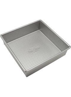 "USA Pan Square Cake Pan, 9"" X 9"" X 2.25"""