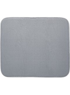"Fox Run Dish Drying Mat, Gray 16""x18"""