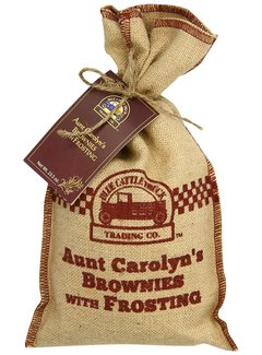 Blue Cattle Truck Aunt Carolyn's Brownies w/Frosting