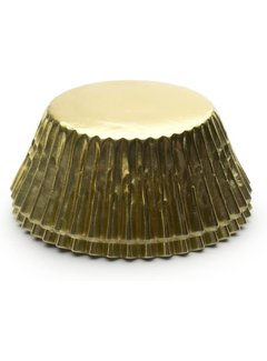 Fox Run Baking Cups, Gold Foil 32/CT