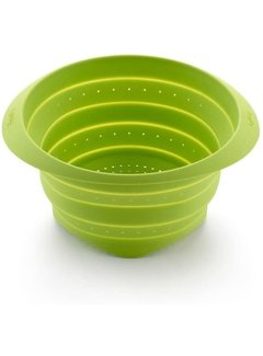 """LeKue Strain & Store, Collapsible Colander 9"""""""