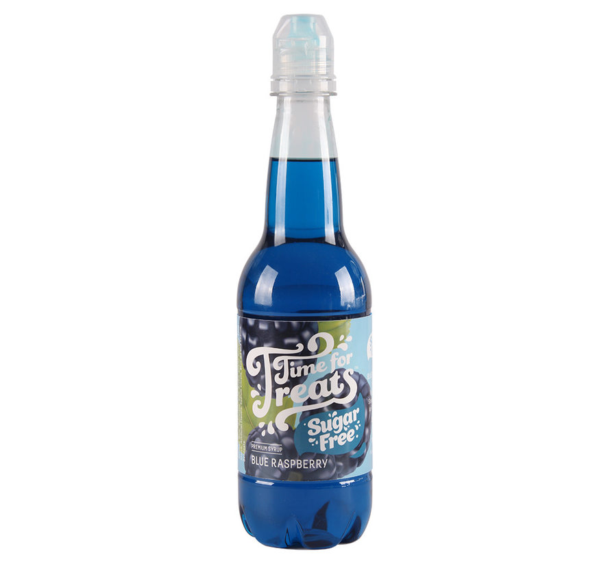 Time for Treats Snow Cone Syrup - Sugar Free Blue Raspberry