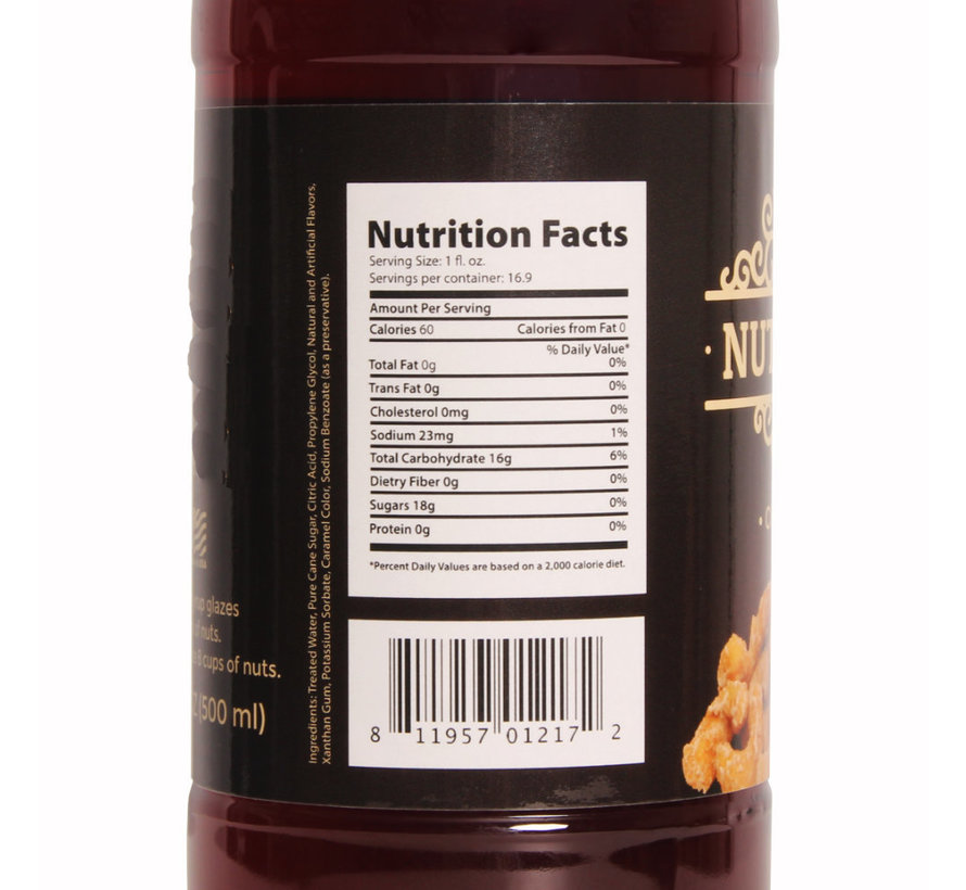 Nut Glaze Cinnamon