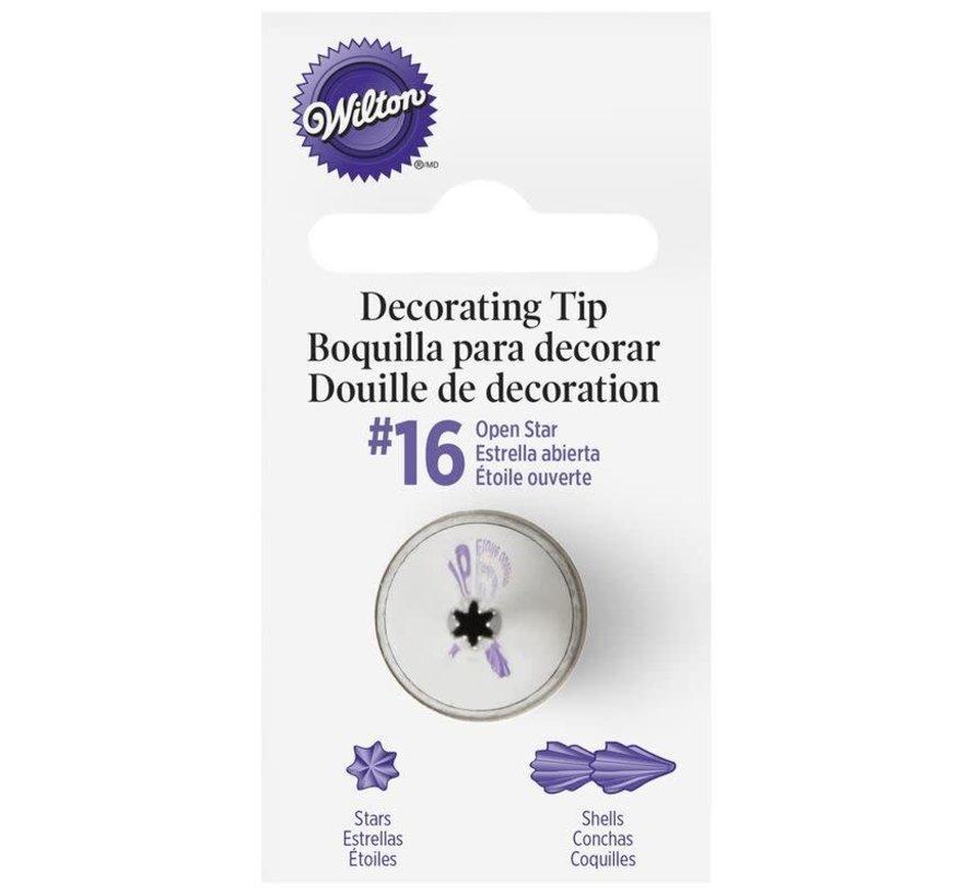 Open Star Tip #16