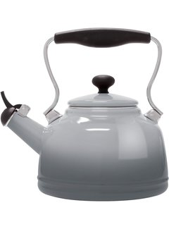 Chantal Vintage Teakettle - Lake Grey 1.7 Qt.