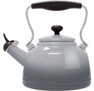 Chantal Vintage Teakettle - Lake Grey 1.7 Qt.