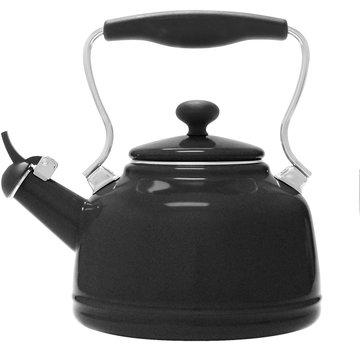 Chantal Vintage Teakettle -  Matte Black 1.7 Qt.