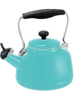 Chantal Vintage Teakettle - Aqua 1.7 Qt.