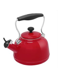 Chantal Vintage Teakettle - Red 1.7 Qt.