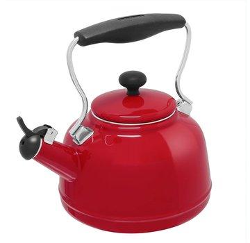 Chantal Vintage Teakettle - Red 1.7 Qt.