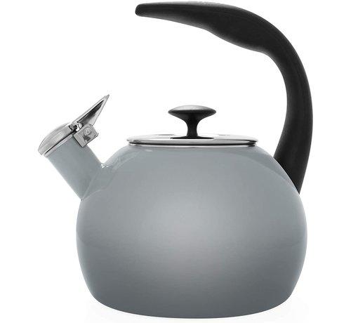 Chantal Heath Transition Teakettle -  Fade Grey 2 Qt.