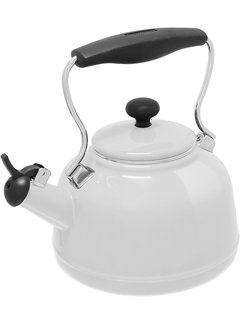 Chantal Vintage Teakettle - White 1.7 Qt.