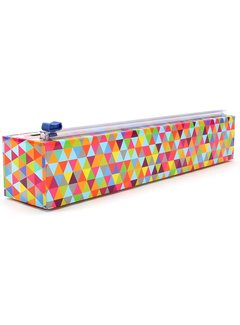 ChicWrap Plastic Wrap Dispenser - Triangles
