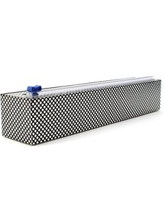 ChicWrap Plastic Wrap Dispenser - Silver Dots