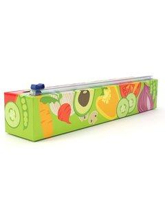 ChicWrap Plastic Wrap Dispenser - Veggies