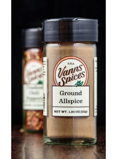 Vanns Spices Allspice, Ground