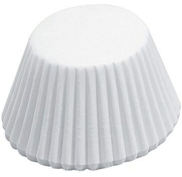 Fox Run Mini Bake Cup, White 75 Count