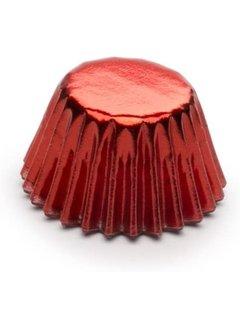 Fox Run Red Foil Petit-four Bake Cups 48 count