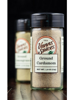 Vanns Spices Cardamom, Green Ground