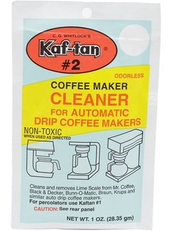 Fox Run Coffeemaker Clean/De-limer 1oz