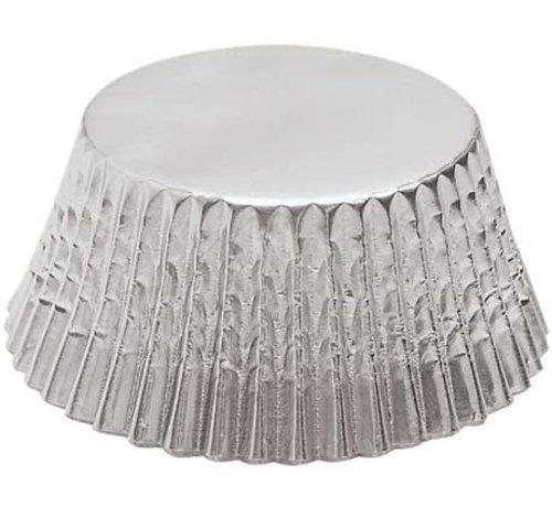 Fox Run Baking Cups Petit-Four Silver Foil - 48 Count