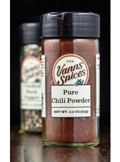 Vanns Spices Chili Powder, Pure