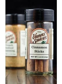"""Vanns Spices Cinnamon Sticks - 2.75"""""""