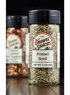 Vanns Spices Fennel Seed