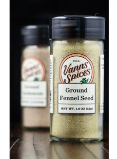 Vanns Spices Fennel Seed, Ground