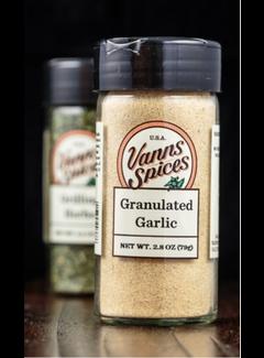 Vanns Spices Garlic, Granulated